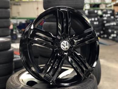 18 VW Talladega rim Golf Jetta Passat Tiguan EOS