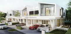 Ampang South Terrace Double Storey with Palace Landscape Scenery