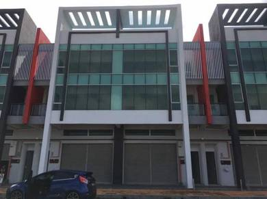 Three Storey Shop Lot Taman Klebang Utama, Klebang Melaka