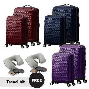 FB172 2 in 1 Luggage Set + Free Travel Kit