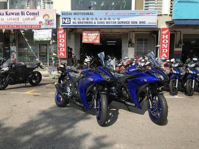 Yamaha R25 R 25 250 No Gst With Accessories