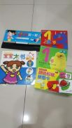 Toodler's learning books & puzzle(5items)