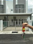 Double storey terrace house to be rent