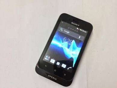 Sony Xperia Tipo 3GB Black Ori TIPTOP