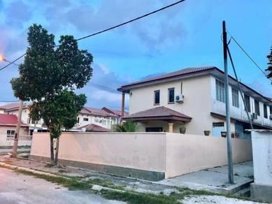 Ipoh bercham corner house sale