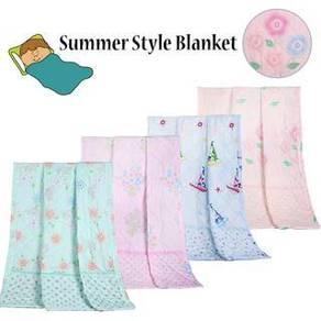 FB166 Silky Flannel Blanket (Random Colour)