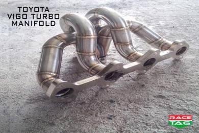 Toyota hilux vigo exhaust turbo manifold header
