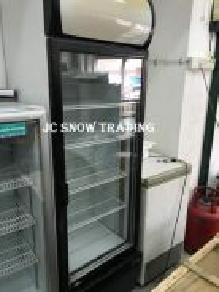1 door display chiller