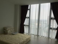 THE SQUARE ONE CITY - 2 rooms 2 bathroom 710sf studio city view