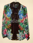 Katies (Aust.Label) Floral Chiffon Blouse with Tag