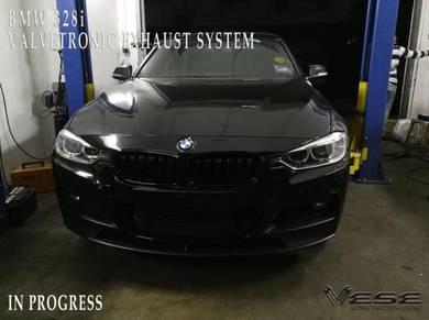 BMW 328i VALVETRONIC EXHAUST SYSTEM INSTALLATION