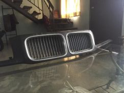 Bmw e36 headlamp grill with nose panel original fo