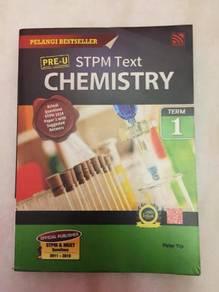 STPM Chemistry Textbooks (Term 1 & 2)