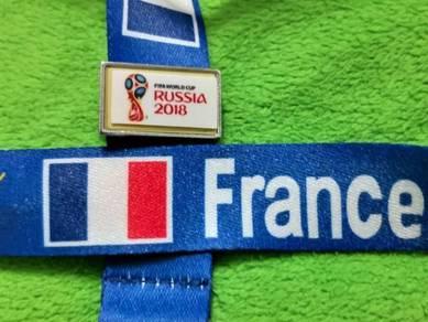 Tali Tag Piala Dunia 2018 - Perancis