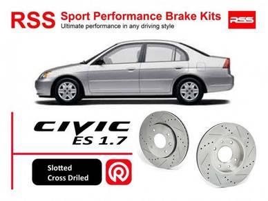 Honda Civic ES1.7 2.0 RSS Sport Disc Brake Pad Kit