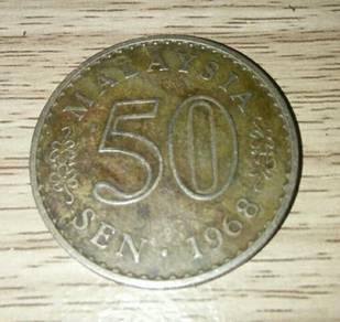 Coin 50¢ 1968