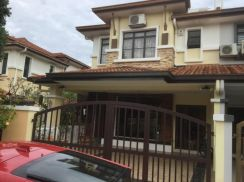 End lot 2 storey at Taman Bukit Sungai Long for sale
