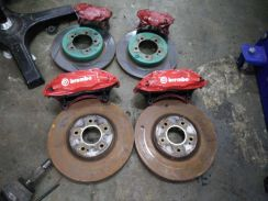 Brembo brake set evo 8 ct9a