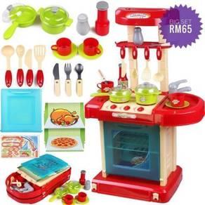 Toys Kitchen Playset Children