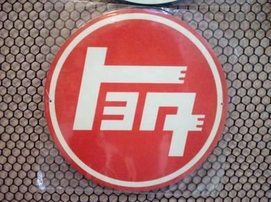 Tin sign besi Toyota