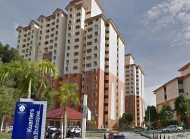 Apartment putra damai presint 11, putrajaya for sale!