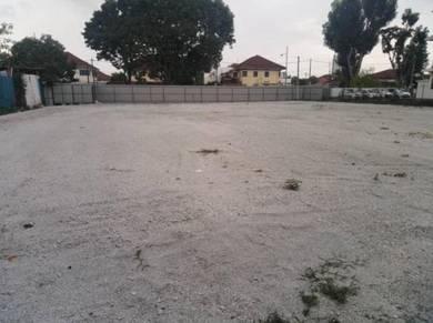 Padang Tembak vacant land for rent , 20,000sf , facing main road