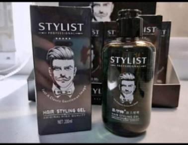 Professional stylist hair gel for all.