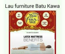 Buy Queen 8 inch Latex Mattress Free 2 Pillow