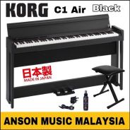 Korg C1 Air Digital Piano, Black