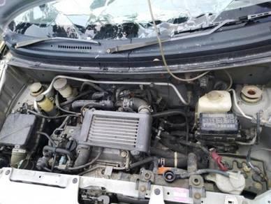 Gearbox auto 660cc for kelisa kenari kancil