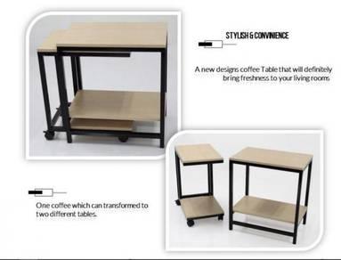 2 Piece Set Designer Coffee Table