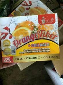 Orange fiber+collagen .