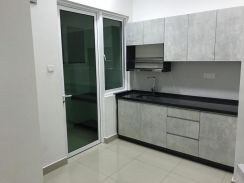 Sentul Village 3 AC Partly Furnished Secure Place Nice Kitchen Cabinet