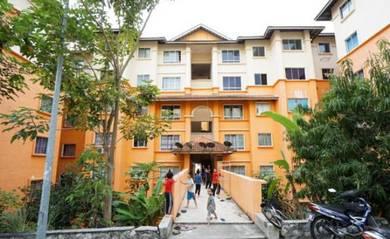 MURAH,DEPOSIT RM1K,BERPERABOT Apartment Gemalai Puncak Alam, GOOD BUY