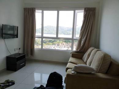 Tropicana Bay Residences, 2 Rooms Unit, Simple Furnished