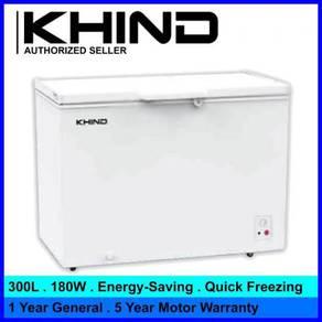 Khind fz295 chest freezer 295l inner light-new