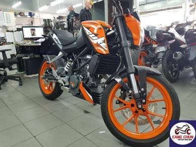 KTM Duke 200 DUKe 200 Zero D/P Promotion