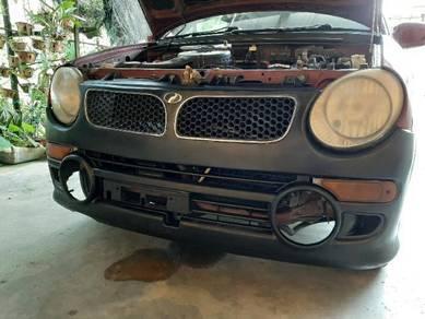 Kancil bumper convert Subaru vivio RX-R