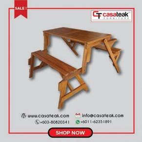 Picnic/Magic Bench teak wood at Casateak