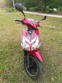 SYM JET PWR 125 red