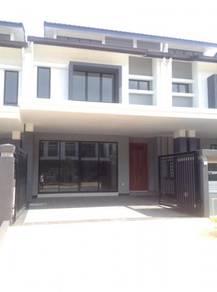 [NEW House 22x75 ] Teres in DENAI ALAM elmina shah alam SAFFRON