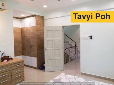 Beverly Hills Triple Storey Terrace END LOT Tanjung Bungah reno