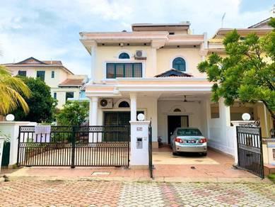 2.5 storey end lot terrace seksyen 7 shah alam