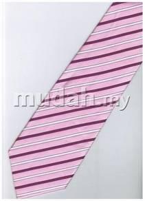 EPK04 Pink Purple White Blinking Formal Neck Tie