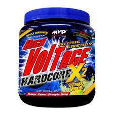 MVP High Voltage Hardcore preworkout energy