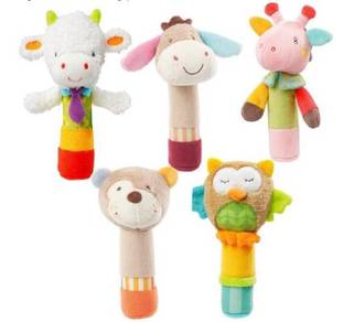 JJ OVCE Multi Function Cute Animal Soft Plush Hand