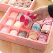 Useful underwear/necktie organiser box