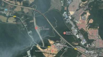 LAND - (2.7-Acre) BANDAR AINSDALE Freehold Tepi HIGHWAY PLUS Seremban