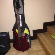 Electric guitar(red)