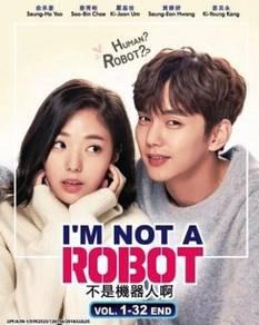 DVD Korean Drama I'm not a Robot